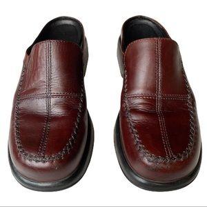 Dansko Men's Brown Leather Clogs